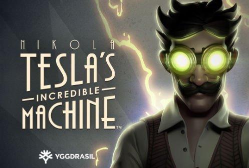online slot Nikola Tesla Incredible Machine från svenska spelutvecklaren Yggdrasil