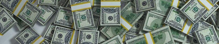 Pengar i mängder till nypensionerad