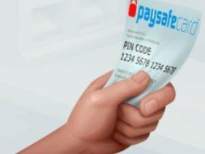 Kort från paysafecard