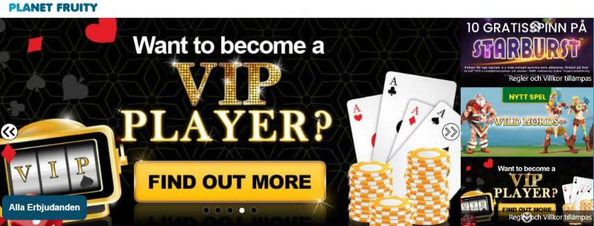 lojalitetsprogram VIP medlem