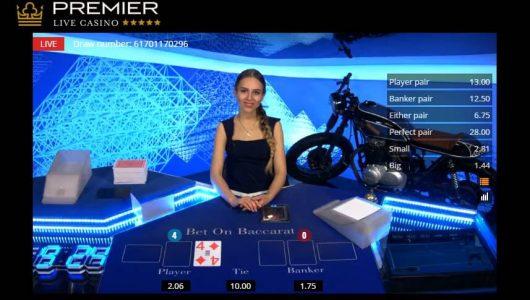 Premier Live Casinospel