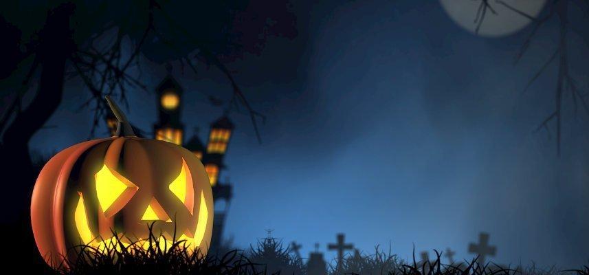 pumpa, kyrkogård, månljus