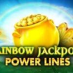 logotyp från casinospelet Rainbow Jackpots Power Lines