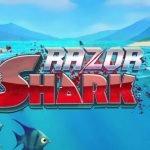 logotyp från casinospelet razor shark