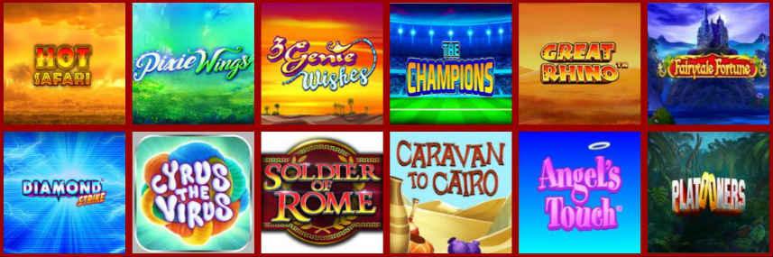 casinospel online slots