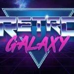 logotyp för retro galaxy