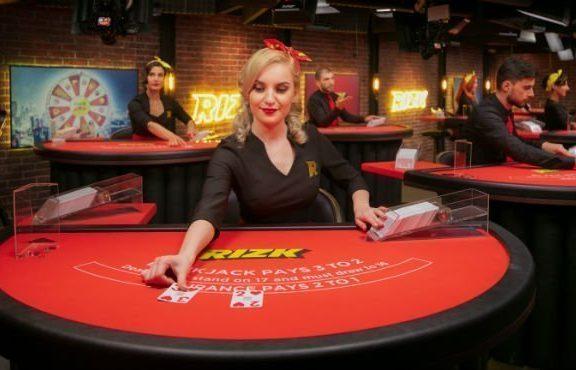 rizk live casino dealer