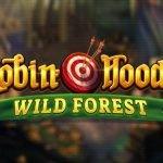 robin hood wild forest slot logotyp
