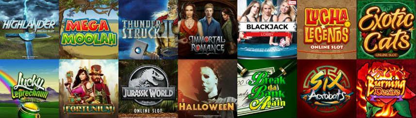 online slots casinospel