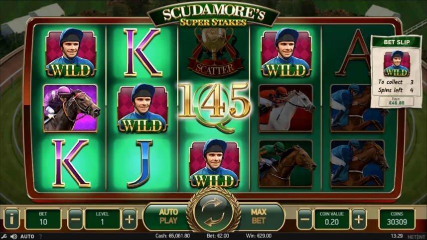 scudamores slot