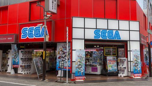 Sega går tillbaka till rötterna och släpper slotspel med Sonic mm.