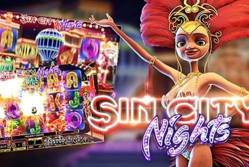 Sin City Nights spelautomat - Mobil6000