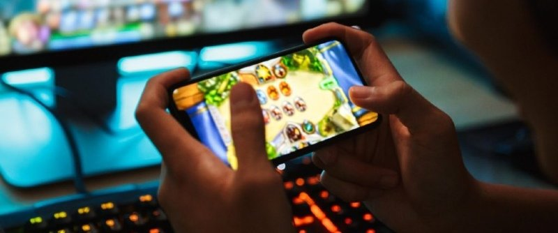 Spelautomater spelas online av anonym person