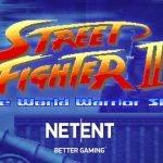 Street Fighter II: The World Warrior Slot logotyp