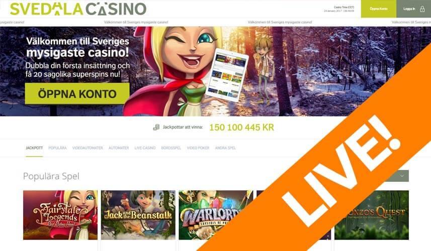 spela casino online hot online