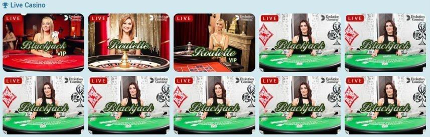 Sweden Casino live casino spel