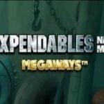 logotyp från casinospelet the expendables new mission megaways