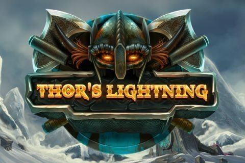 Thor's Lightning casino game logo