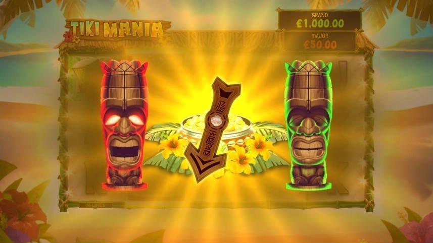 Jackpottspel i Tiki Mania