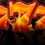 Grafik visar tre sjuor från casinospelet Ultra Burn