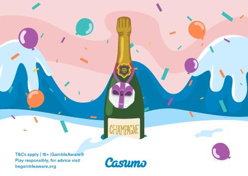 Casumo firar det nya året genom en smygtitt på kommande bonusar