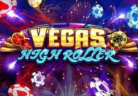 vegas high roller slot logo