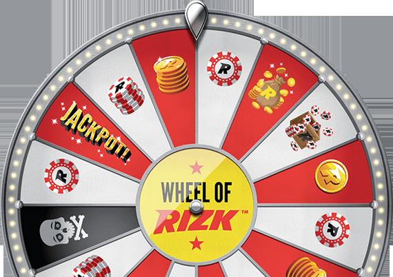 Rizk casino hjul