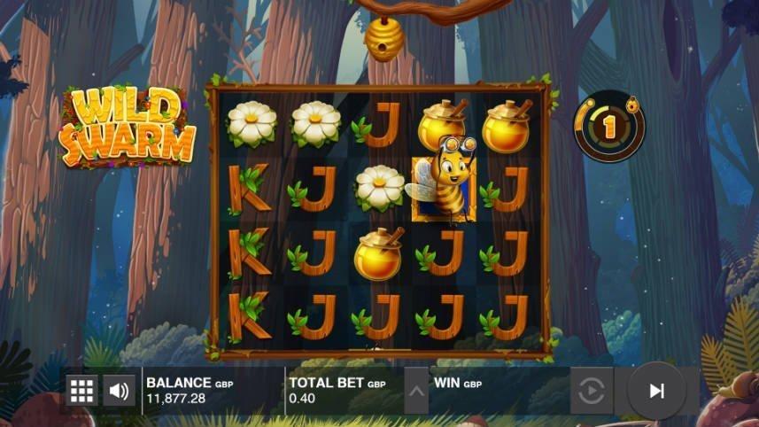 online slot Wild Swarm från Push Gaming