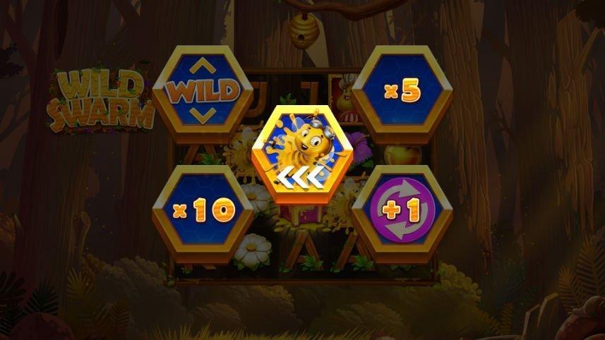 casino spel Wild Swarm från spelutvecklaren Push Gaming