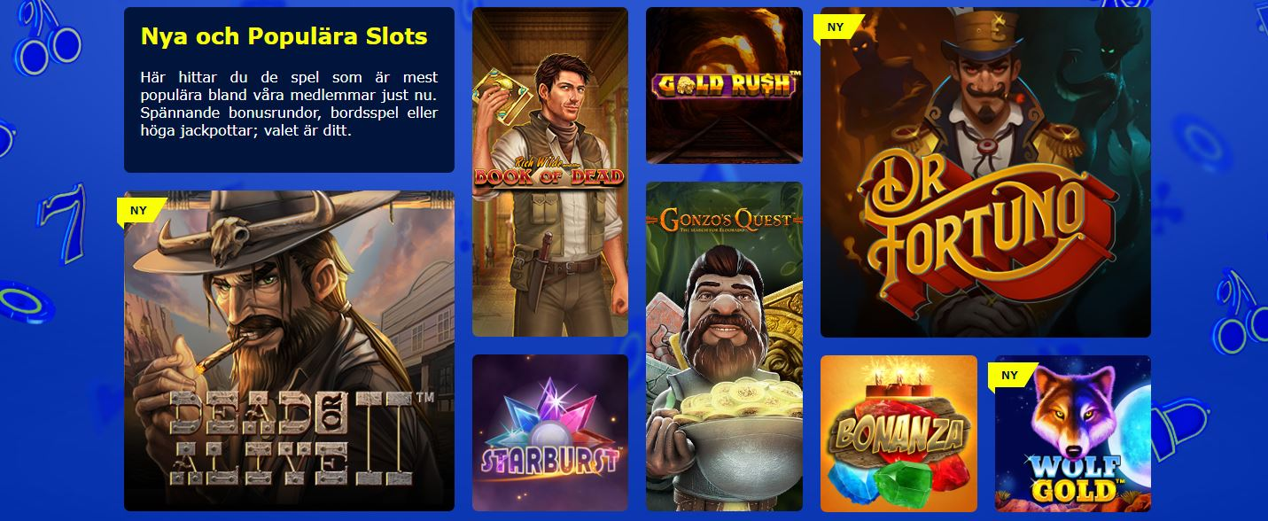 William Hill casino slot spel