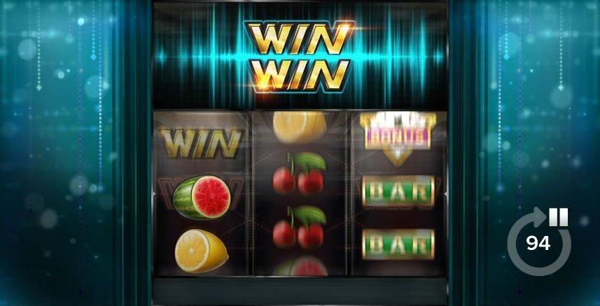 Hjul i rullning på casinospelet Win Win från ELK Studios