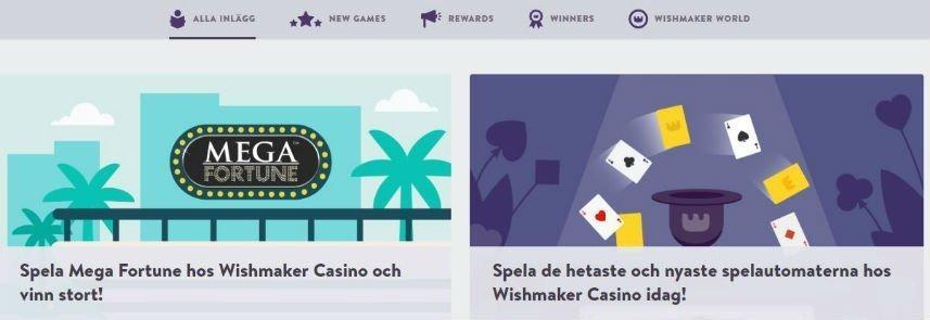 casino nyheter