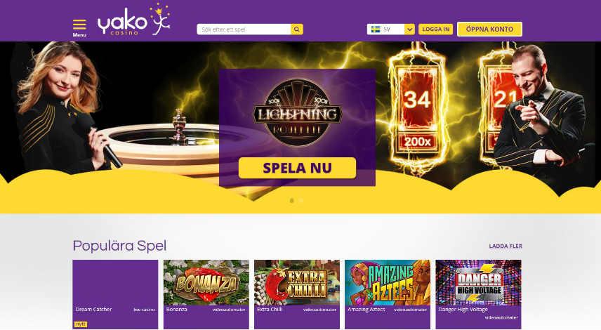 onlinecasino internetspel