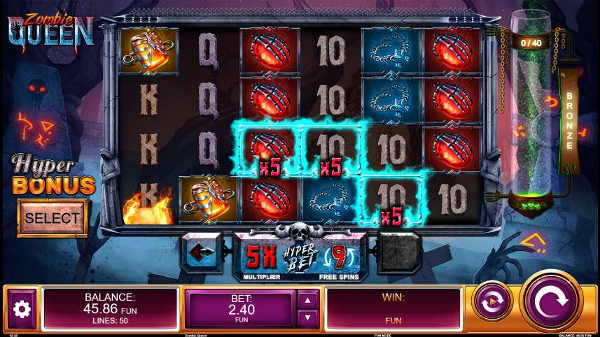 online slot Zombie Queen från spelutvecklaren Relax Gaming